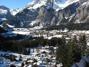 Kandersteg from lift