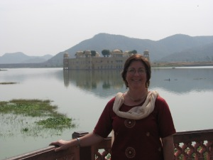 Me at the water palace