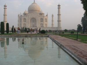 Taj Mahal - reflection