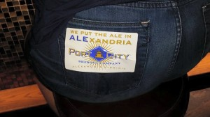 pub crawl booty sticker