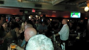 pub crawl - crowded Union Street
