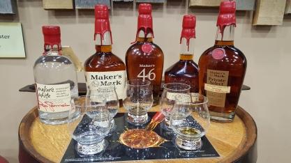 Maker's Mark Tasting