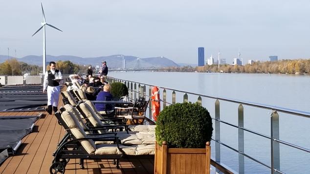 On deck in Vienna