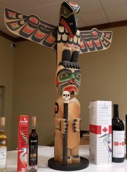 Lulu Island Winery Totem