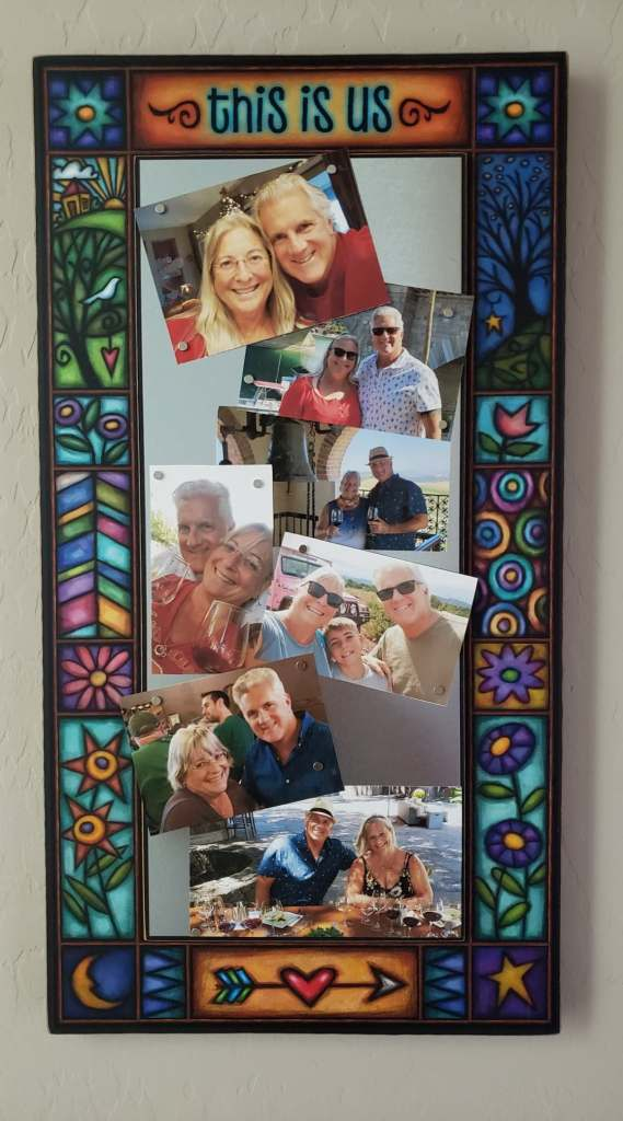 decorative magnetic picture frame